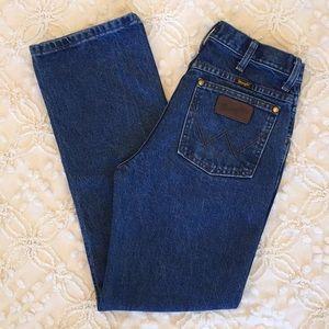 Vintage Wrangler High Waist Slim Fit Jeans
